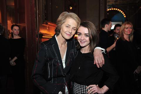 Charlotte Rampling (45 Years) with Maisie Williams (The Falling)